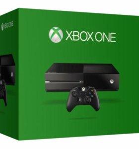 Xbox One 500gb + много игр