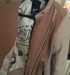 Кожаная куртка denham