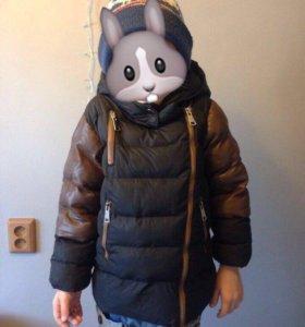 Детская теплая куртка.