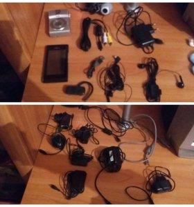 Прожаю зарядки/usb-кабеля/гарнитуру/вэб-камеру