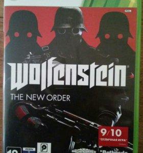 Игра на xbox 360 wolfenstein