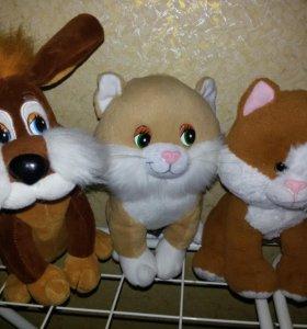 Игрушки Кошки и Собака