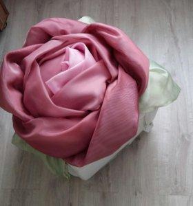 Украшение цветок на свадебную машину