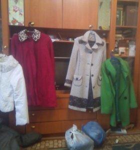 Пуховики куртки и пальто