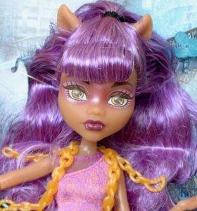 Новая Кукла Monster High Клодин