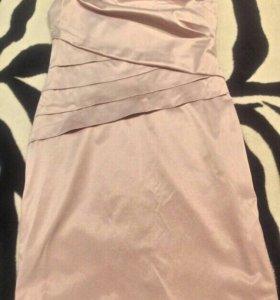 Платье,цвет сереневый