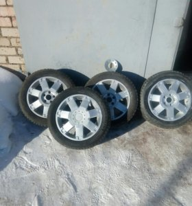Продам колёса р 16 форд оригинал