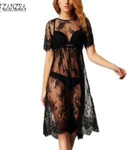 Кружевное платье / сорочка