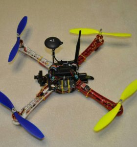 Квадрокоптер f450 на мозгах APM 2.6