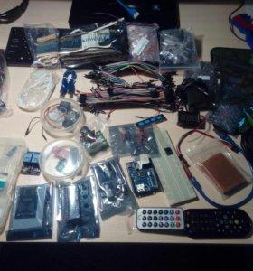 Ардуино, датчики,резисторы,провода