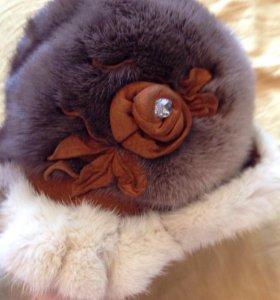 Шапка зимняя норковая