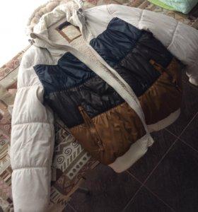 Куртка мужская зимняя Bershka