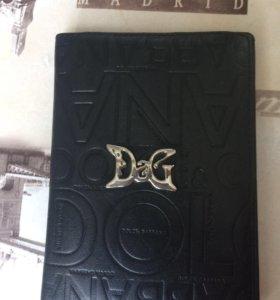 Кожаная обложка для паспорта Dolce&Gabbana