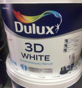 Краска Dulux 3D white