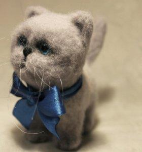 Кот Тимофей. Сухое валяние.
