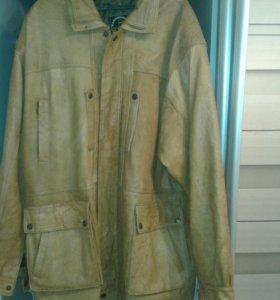 Куртка чистейшая кожа