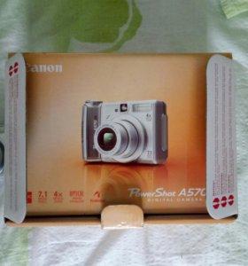 Canon A570 +футляр