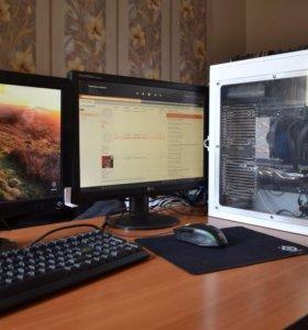Игровой, стримерский компьютер на топовом i5 6400