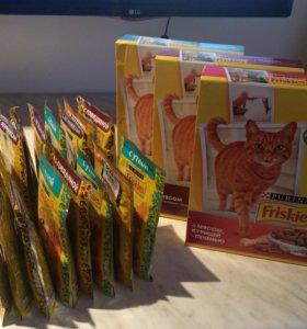 Корм для кошек.