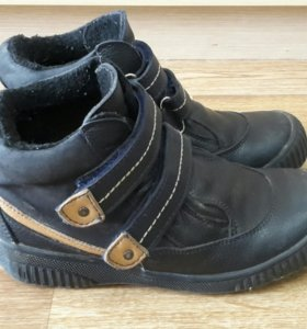 Демисезонние ботинки на байке