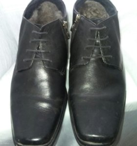 зимние ботинки терволина