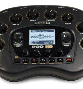 Гитарный процессор Line 6 Pod HD