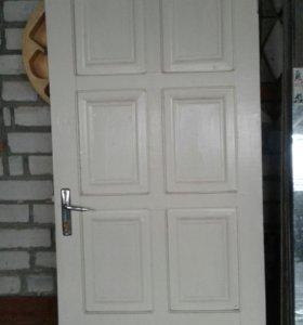 Двери межкомнатные,б/у