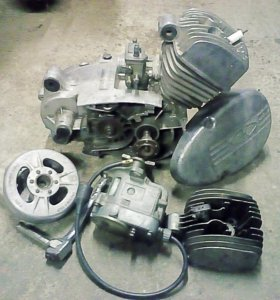 Двигатель V-50