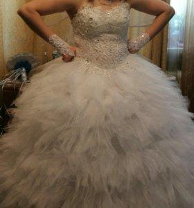 Сдаю свадебное платье в прокат