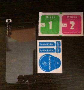 Стекло на iPhone 4 4s