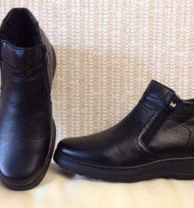 Новые ботинки на меху