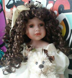 Фарфоровая кукла 21