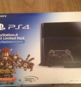 PlayStation 4 с камерой и играми