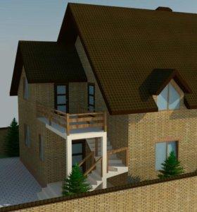 Проектирование домов и коттеджей