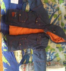 Куртка на флисе р 2-3года