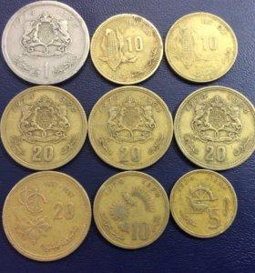 Монеты Марокко (Африка)