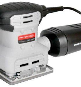 Машинка шлифовальная плоская интерскол ПШМ-104/220