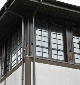 Окна деревянные: финские, евро; двери, лестницы