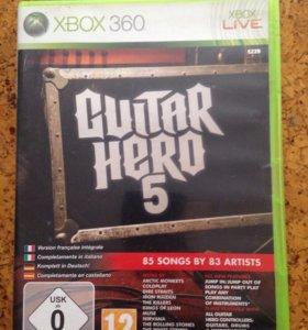 GUITAR HERO 5 на Xbox 360