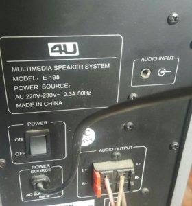 Мультимедийная система 4U E-198