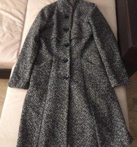 Пальто из драпа,демисезонное!