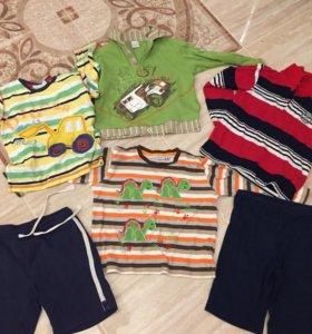 Вещи на мальчика+ 3 пары обуви
