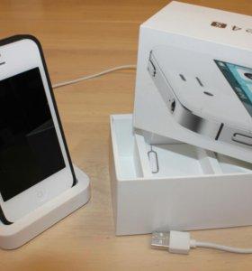 iPhone 4s white 32Gb +ПОДАРОК