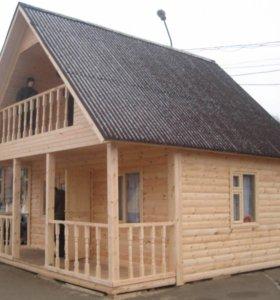 Строим бани крыши дома заборы
