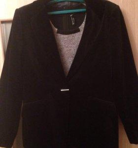 Шикарный замшевой пиджак