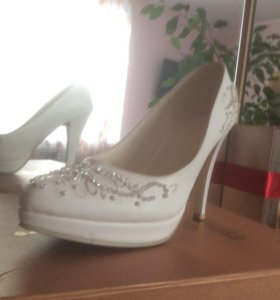 Свадебные туфли 36-37