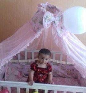 Детская Кроватка + матрас.
