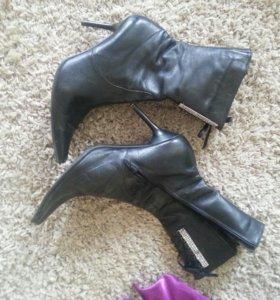 Полусапожки.Обувь.38.Кожа.
