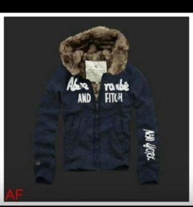Abercrombie Толстовка, куртка новая