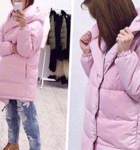 Куртка зефирка нежно розовая